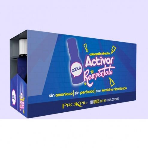 Activate Blue treatment