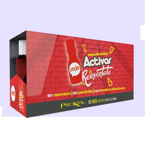 Activate red treatment